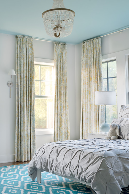Light and Airy Blue Bedroom