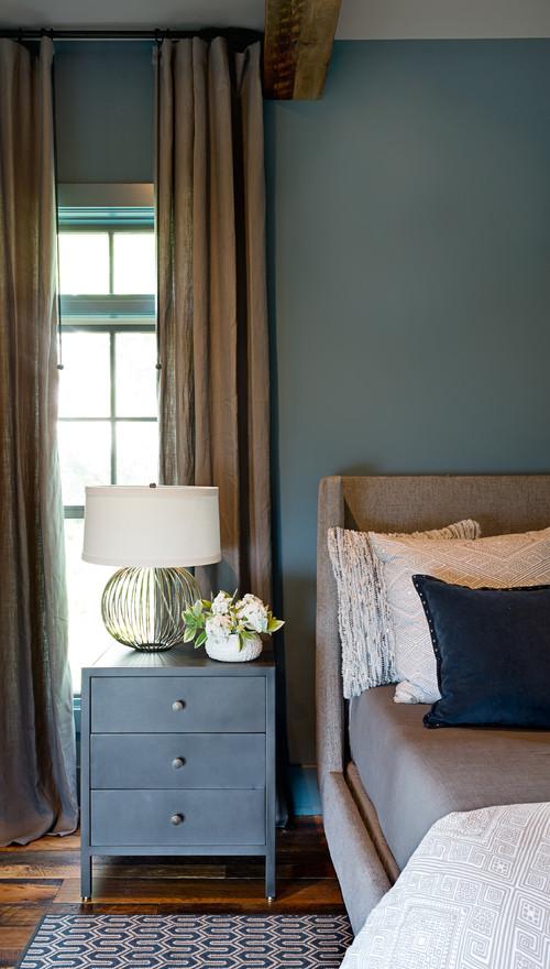 Cozy Blue Bedroom