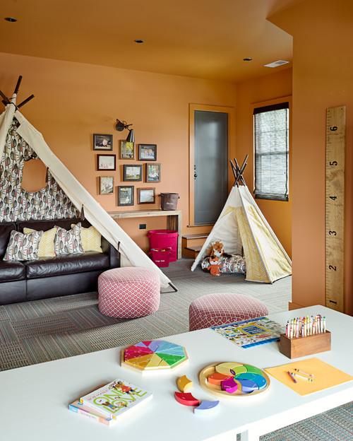 Kid's Playroom with Tee Pee