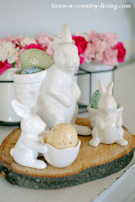 Trio of Bunnies for Spring Decorating