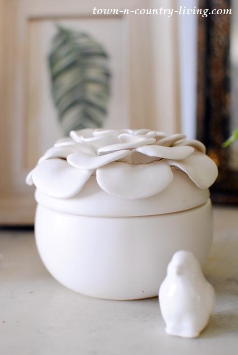 Ceramic Gardenia Candles