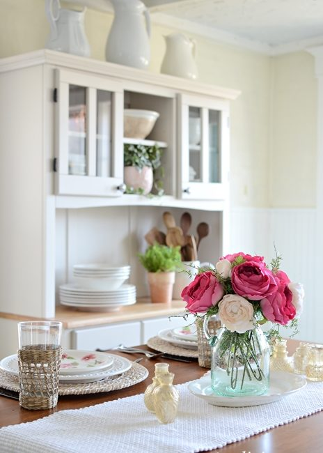 Fresh Spring Kitchen Decor