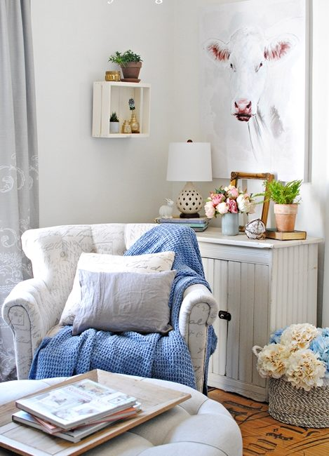 Spring Styling in the Sitting Room