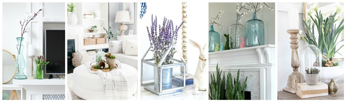 Seasonal Simplicity Spring Series - Mantels and Vignettes