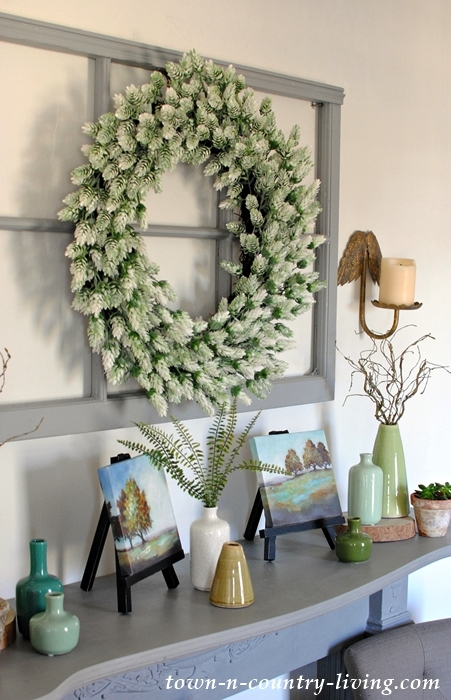 Country Style Mantel