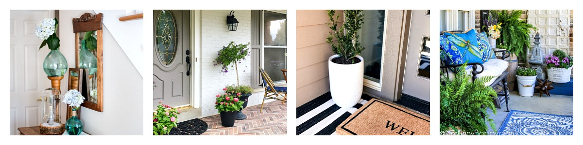 Spring Styling Tour - Porch and Entryway