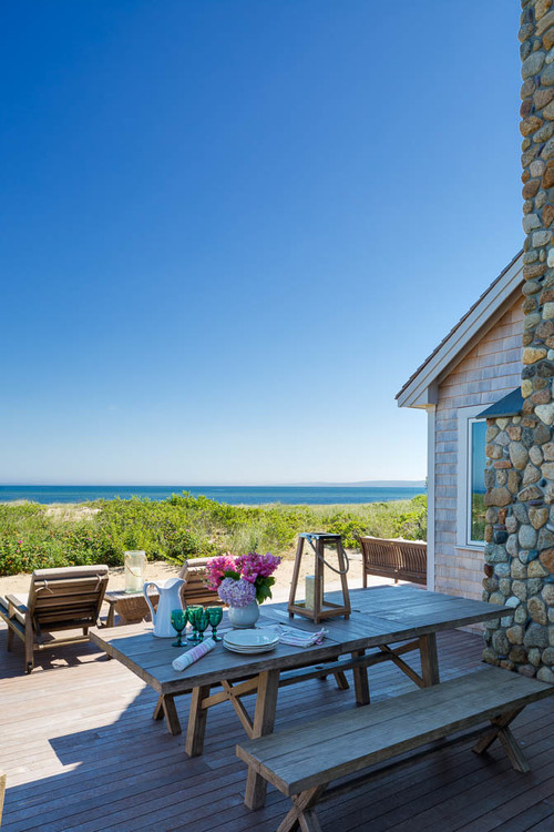 Waterfront Beach Cottage View