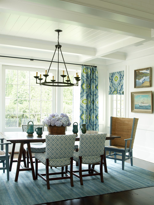 coastal living dining rooms east hampton charming home tour town amp country 16356
