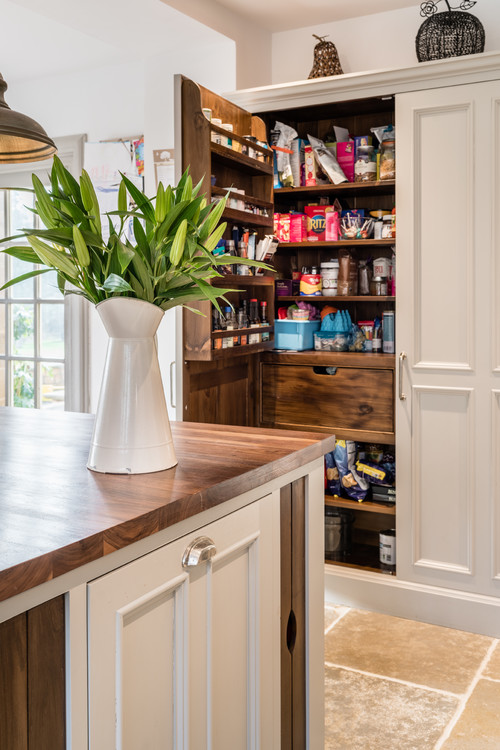 Farmhouse Kitchen Pantry