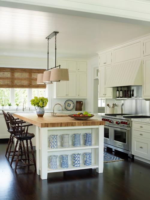 Beach Style Kitchen in the East Hampton Village