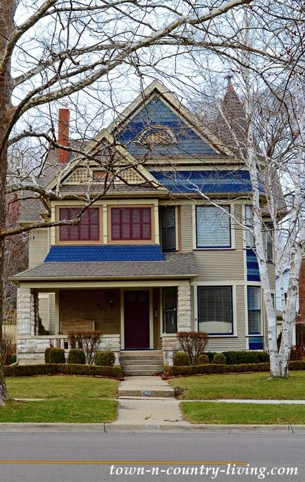 Historic Victorian Home in Aurora, Illinois