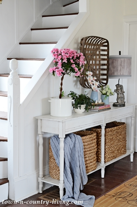 Console Table in Dining Room