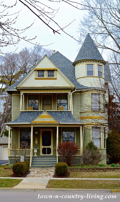 Painted Lady in Aurora Historic District