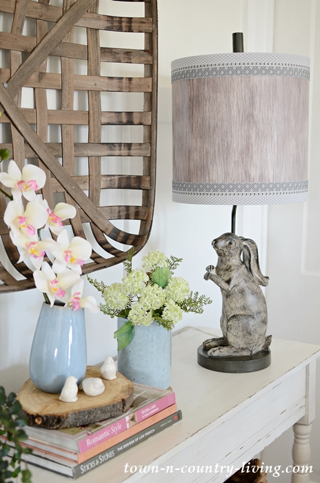 Country Style Rabbit Lamp