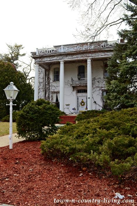 Stately White-Pillared Historic Home