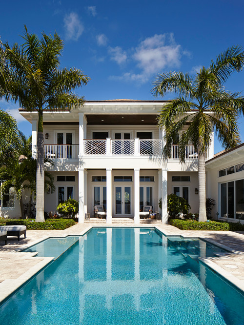 Elegant Beach Style Home with Pool