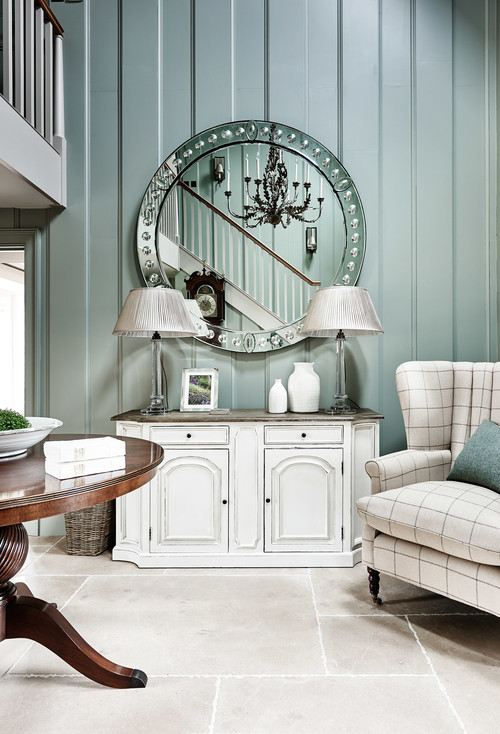 Countryside Retreat Entryway in Soft Blue