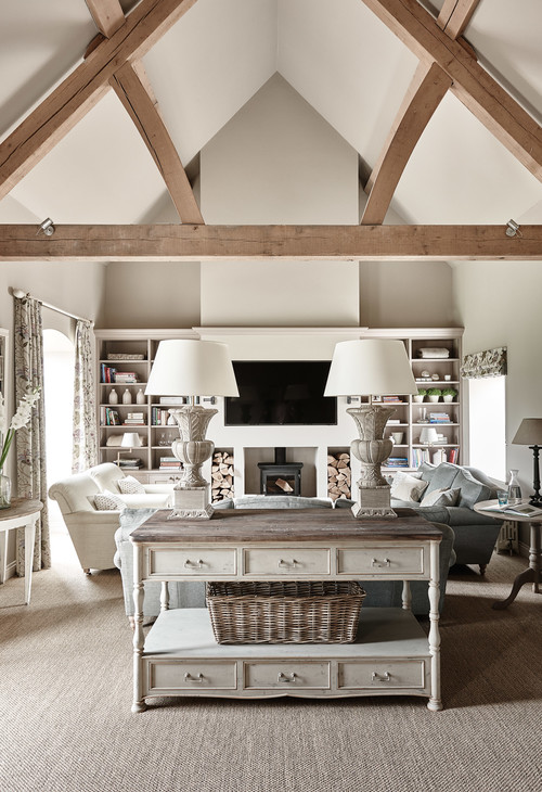 Family Room in Country Retreat