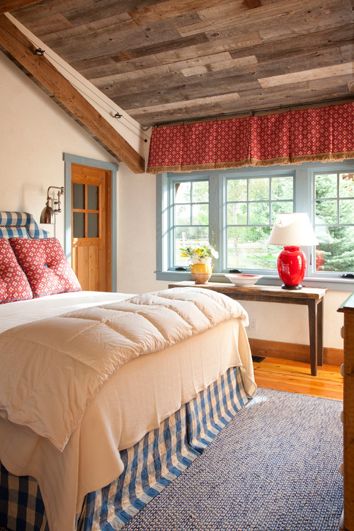 Colorful Country Style Master Bedroom