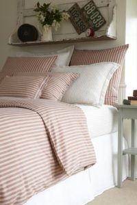 Decorating with Ticking Stripe