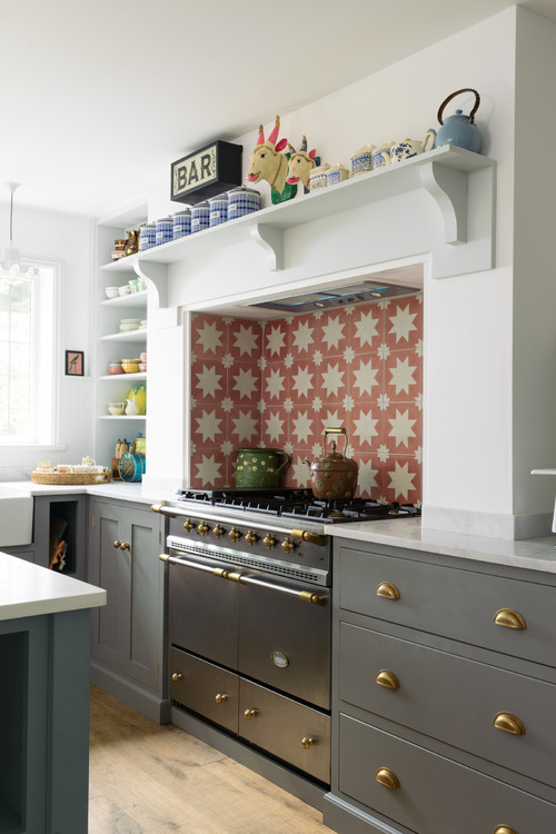 Bespoke Kitchen with Color