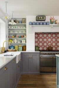 Tour a Colorful Bespoke Kitchen