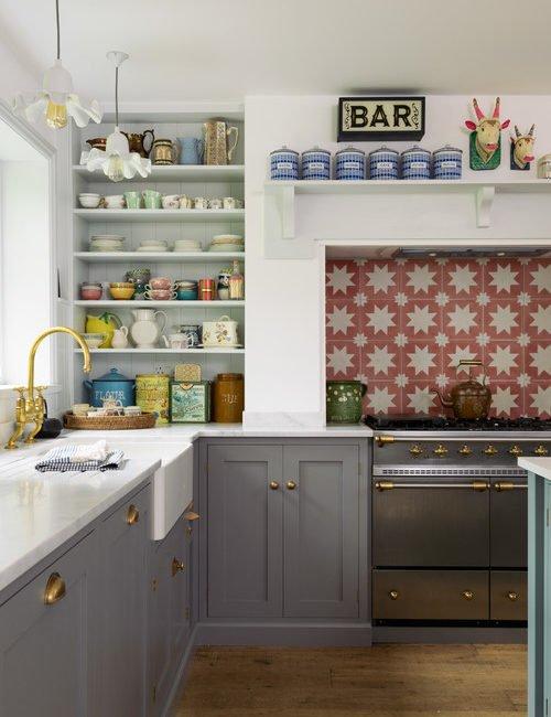 Add Color to a Farmhouse Kitchen