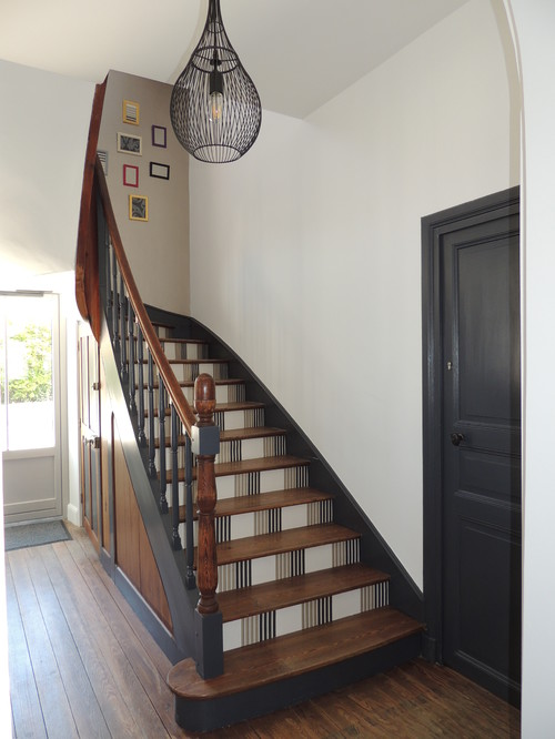Striped Painted Staircase
