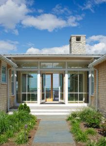 Contemporary Coastal Home in Rhode Island