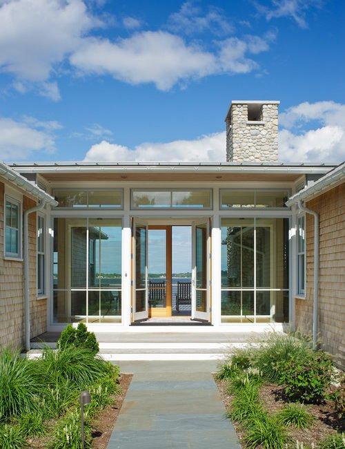 Modern Shingle Style Coastal Home