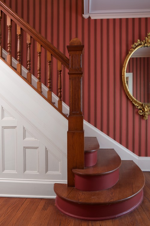 Victorian Painted Staircase
