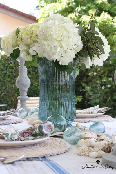 Maison de Cinq Summer Table Setting