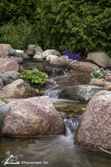 Backyard Aquascape Waterfall