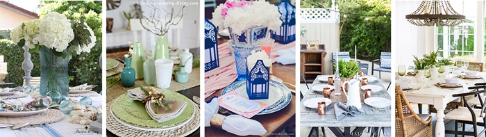Styled and Set Summer Table Setting Series