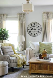 NEW Summer Colors Home Tour: Going Green