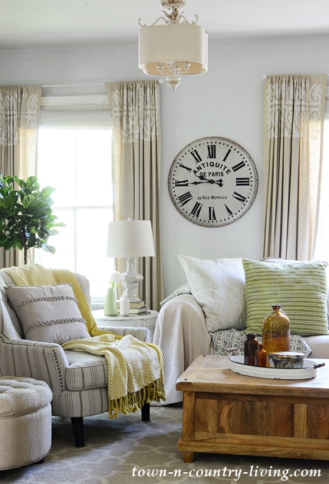 new summer colors home tour going green town country living