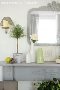 Summer Mantel: How to Style