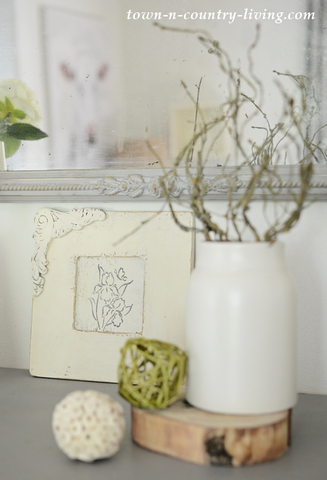 Shabby Chic White Picture Frame