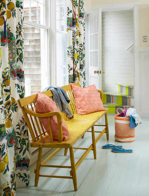 Colorful Beach Cottage Entryway