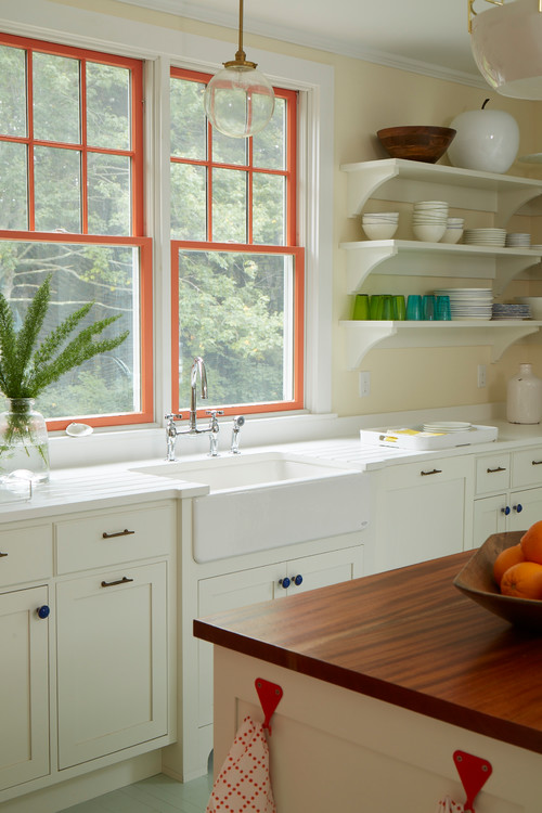 Colorful Beach Cottage Kitchen