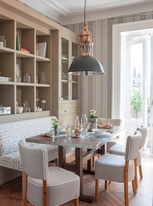 Charming Dining Nook in Neutral Tones