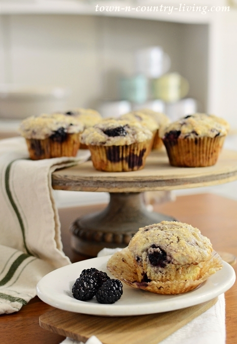 Best Ever Blackberry Lemon Muffins