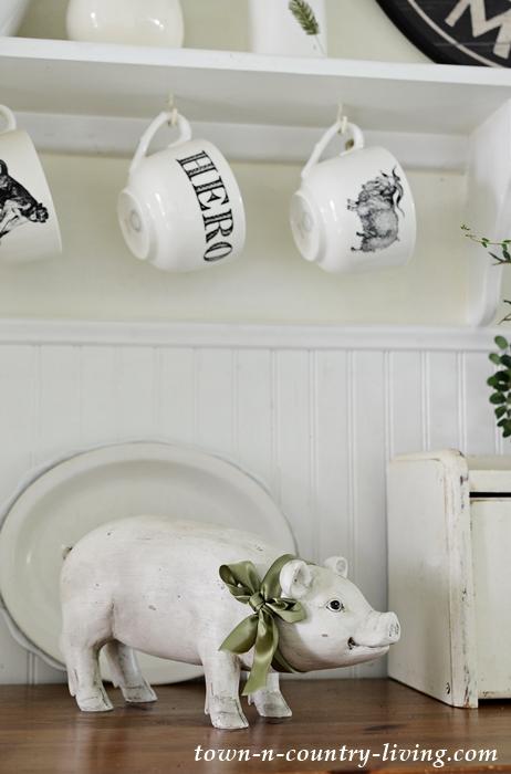 Country Inspired Farmhouse Kitchen Decor