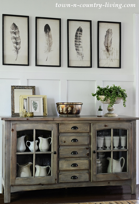 New Artwork for Farmhouse Dining Room