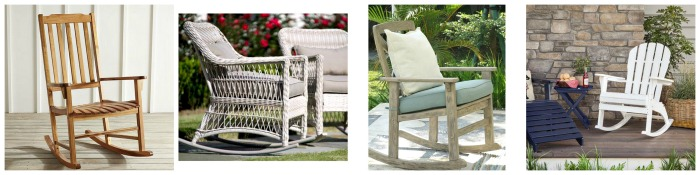 Rocking Chairs for the Summer Porch