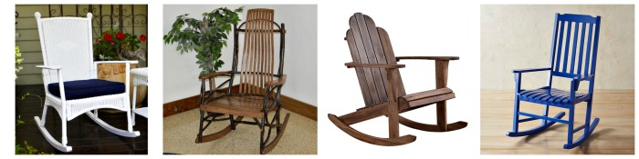 Outdoor Rocking Chair Options