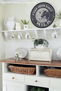 Country Inspired Summer Kitchen