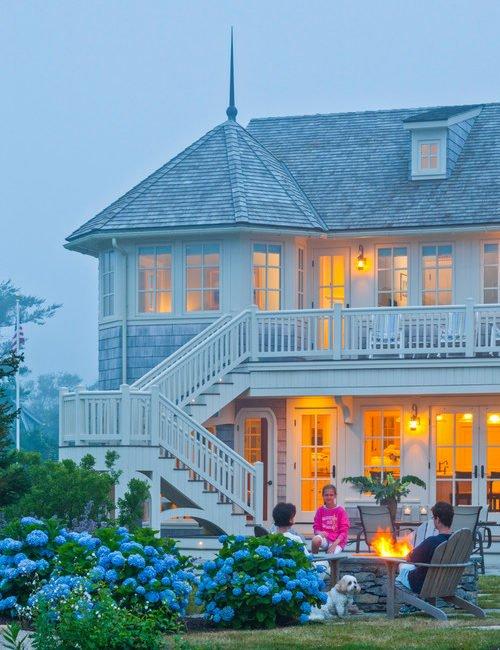 Beachfront Home with Balcony