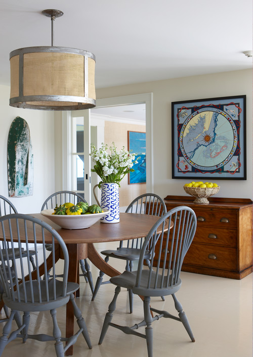 Farmhouse Breakfast Nook on Martha's Vineyard