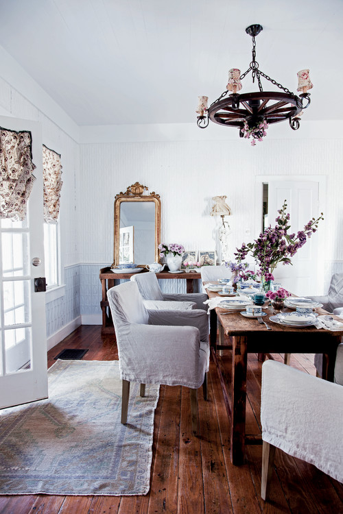 13 Shabby Chic Dining Room Ideas Town Amp Country Living